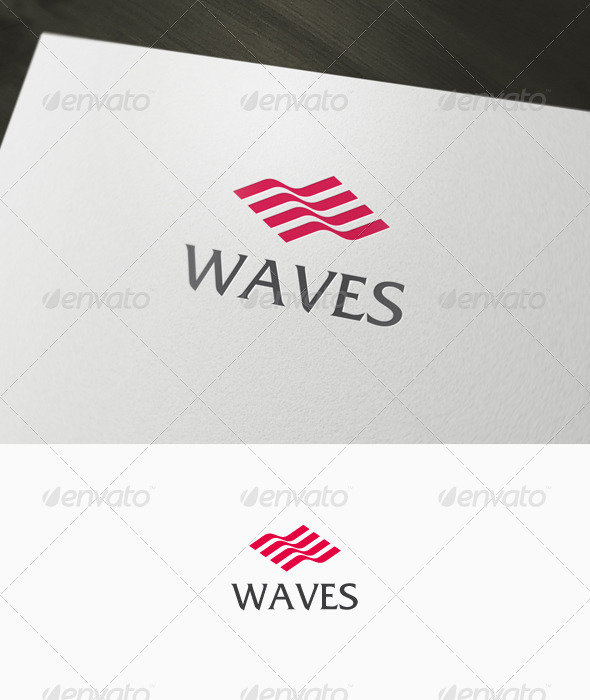 Waves Logo - Abstract Logo Templates