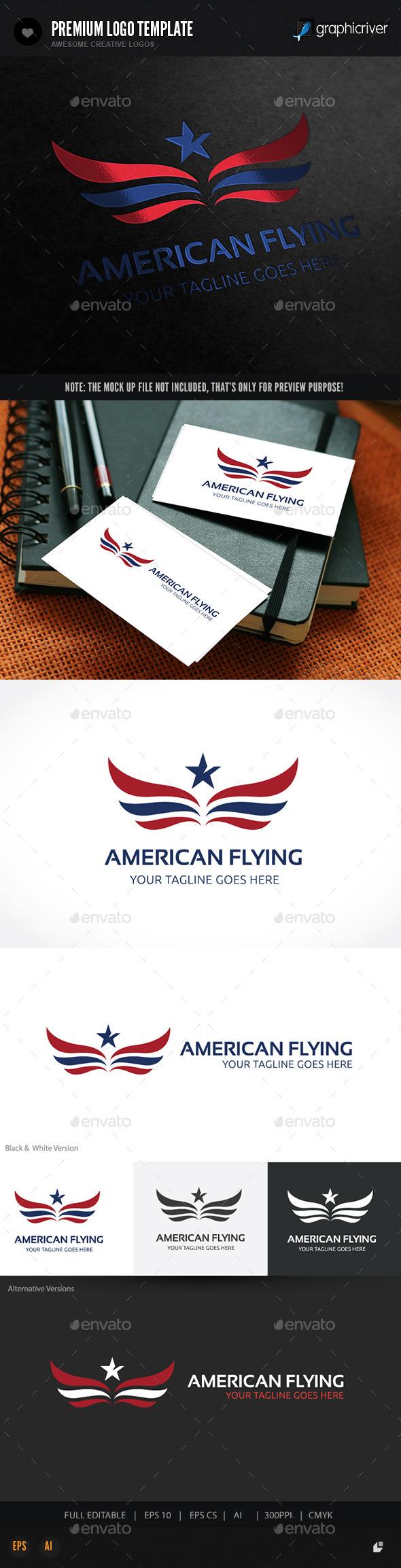 American Flying - Symbols Logo Templates
