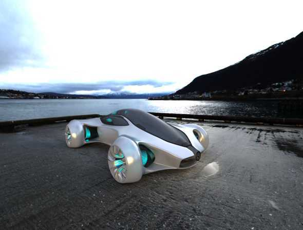 Mercedez BIOME Concept Car - 3DOcean Item for Sale