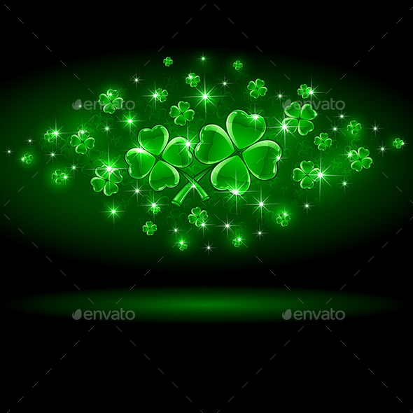 Shamrock - Backgrounds Decorative