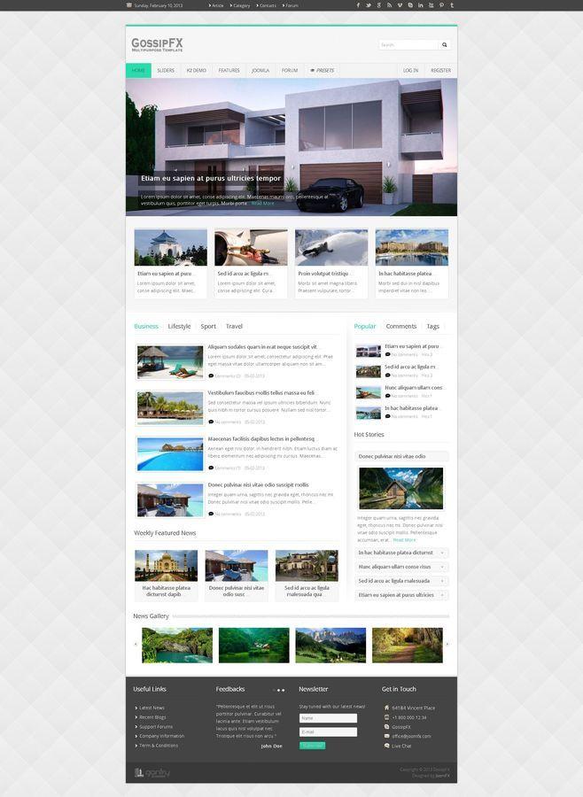 GossipFX - Multipurpose Joomla Template by joomfx | ThemeForest
