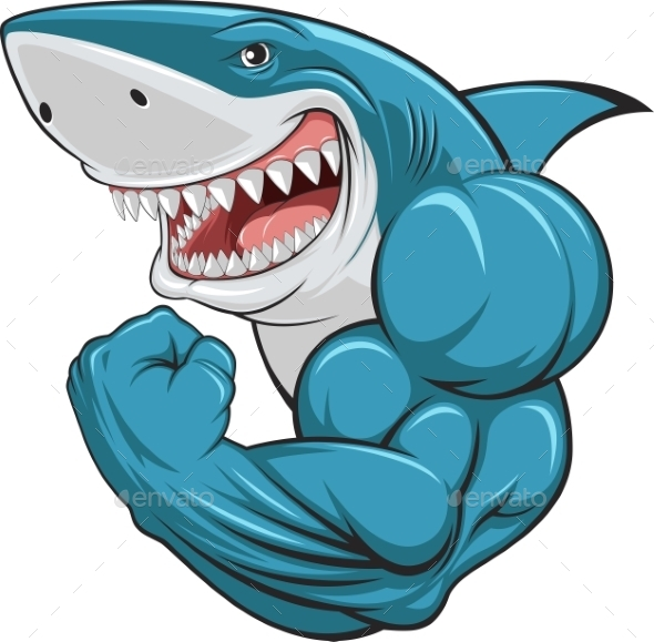 White Shark - Monsters Characters