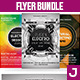 Electro Flyer Bundle Vol.2 - GraphicRiver Item for Sale