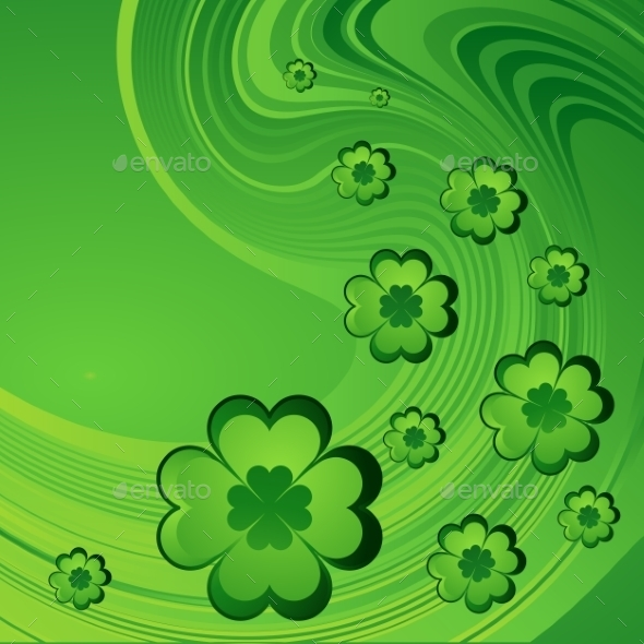 Saint Patrick's Day Background.  - Seasons/Holidays Conceptual