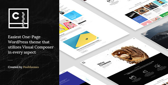 Credenza – VC Powered One Page Theme