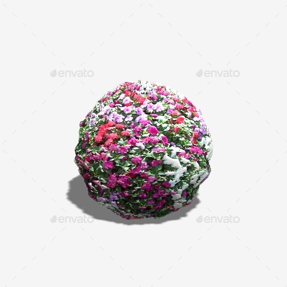 Flowerbed Seamless Texture