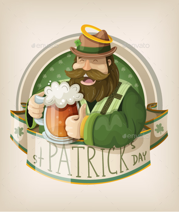 Saint Patrick Day Card - Miscellaneous Seasons/Holidays