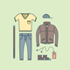 Male Clothing  - GraphicRiver Item for Sale
