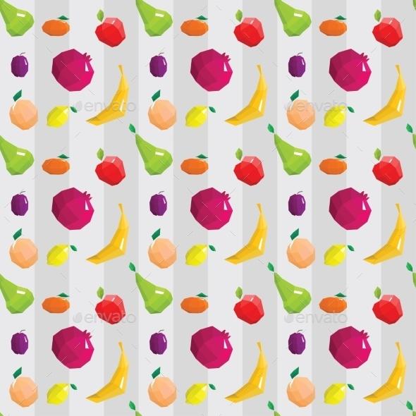 Fruit Pattern - Food Objects