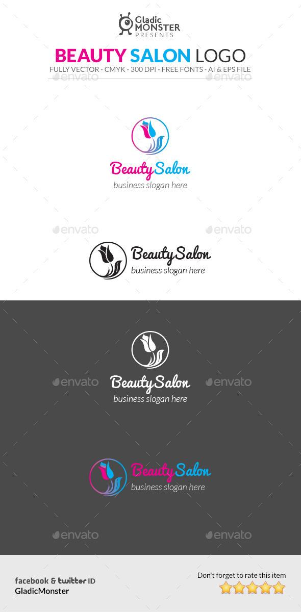 Beauty Salon Logo - Symbols Logo Templates