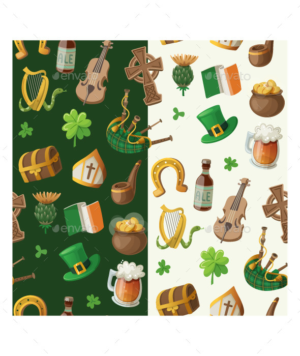 Saint Patrick's Day Pattern - Seasons/Holidays Conceptual