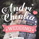 The Typography Wedding Invitation - GraphicRiver Item for Sale