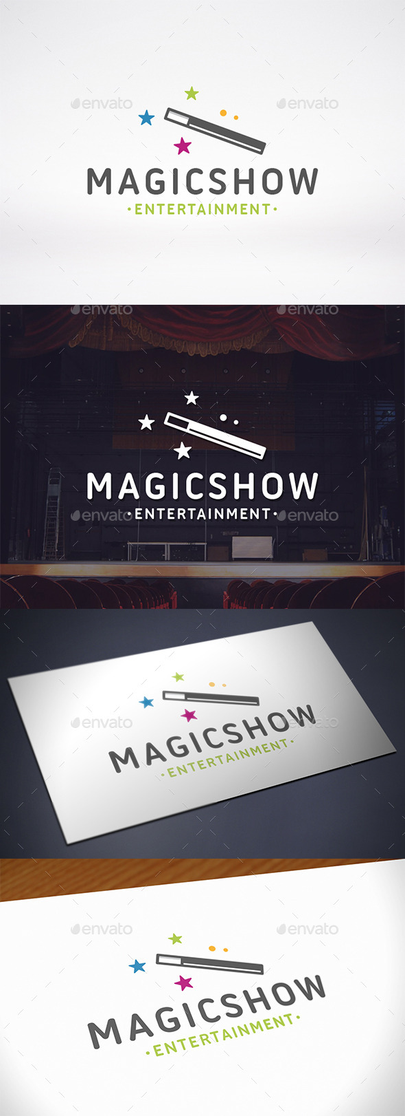 Magic Logo Template - Objects Logo Templates