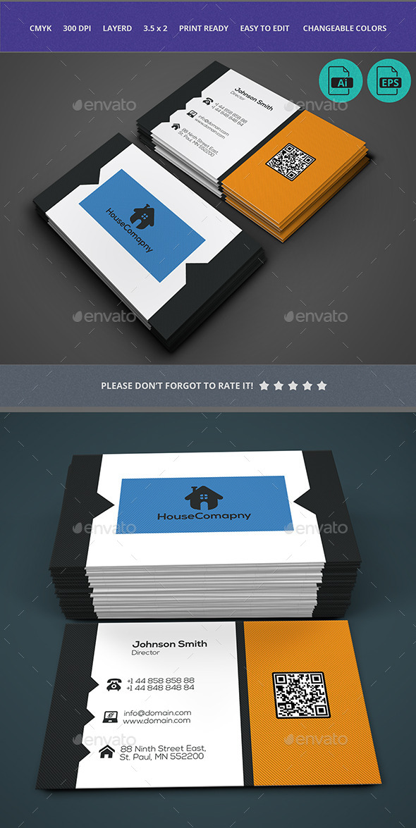 Business Card Design - Business Cards Print Templates