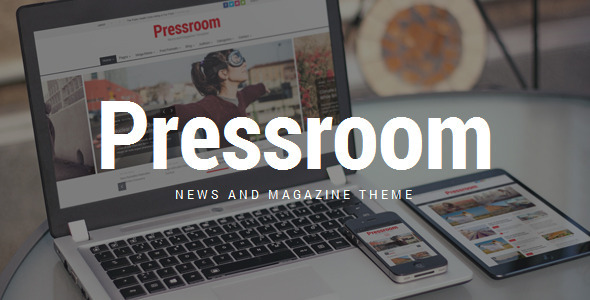Pressroom – News and Magazine WordPress Theme
