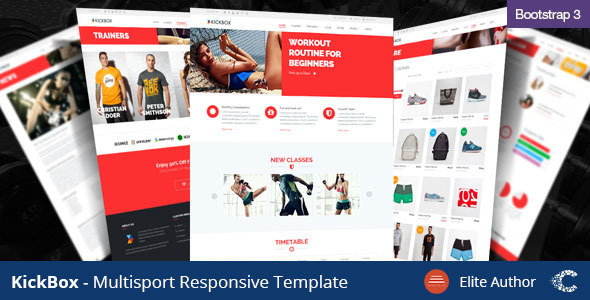 Kickbox – Multisport Responsive Theme