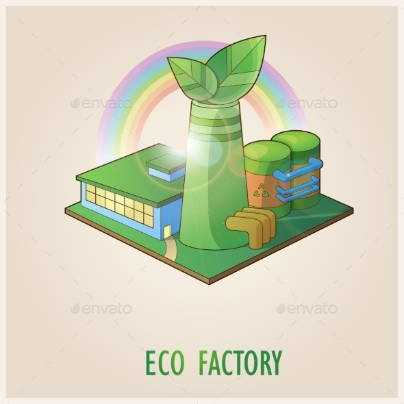 Eco Factory - Miscellaneous Vectors