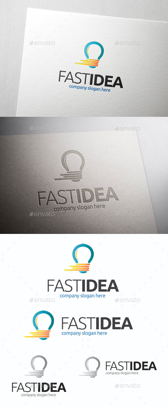 Fast Idea Logo Template - Symbols Logo Templates