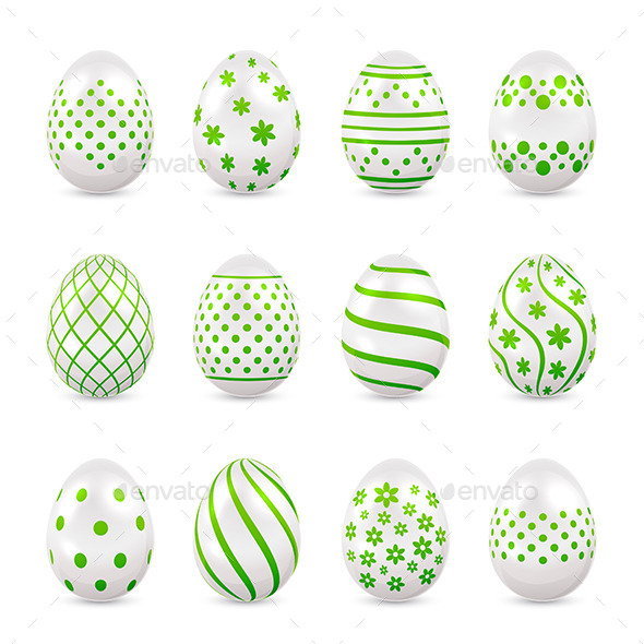 Decorative Easter Eggs - Man-made Objects Objects