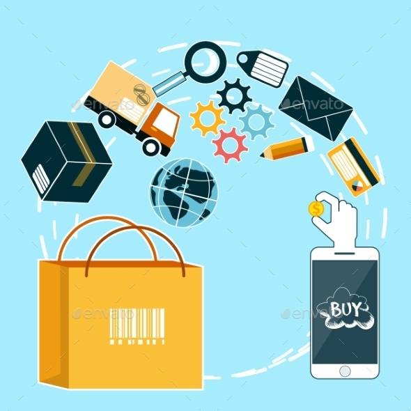 Internet Shopping and Delivery - Services Commercial / Shopping