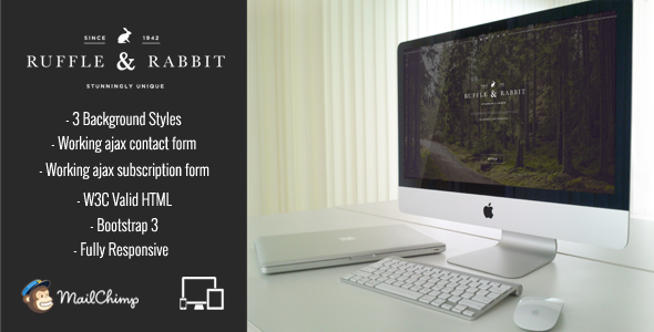 Rabbit – Responsive Coming Soon