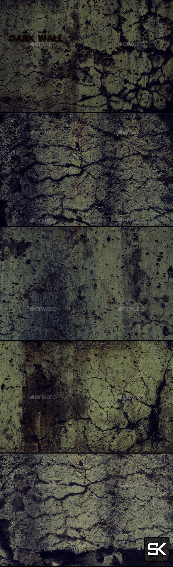 Wall 2 - Industrial / Grunge Textures
