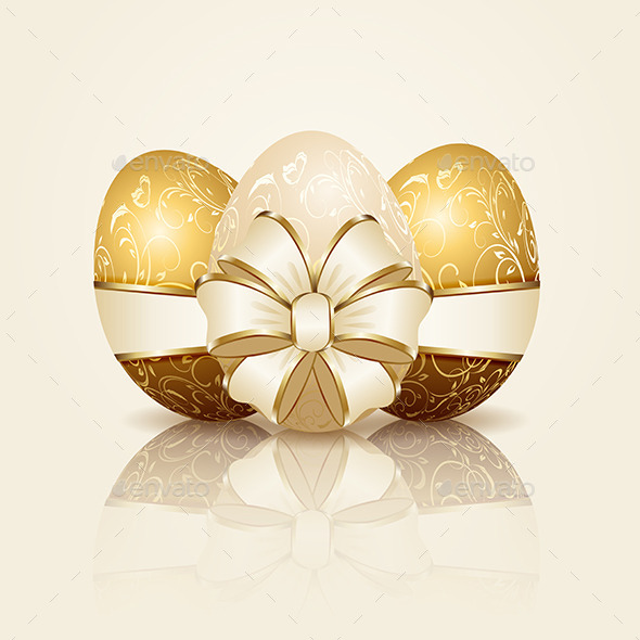 Three Easter Eggs - Man-made Objects Objects