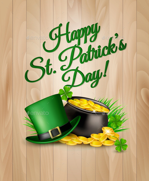 St Patricks Day Background - Seasons/Holidays Conceptual