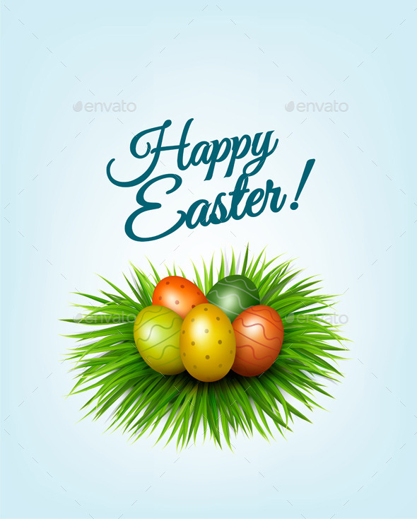 Happy Easter Background  - Seasons/Holidays Conceptual