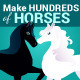 Horse & Pony Creation Kit - GraphicRiver Item for Sale