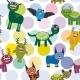 Cartoon Monsters Set - GraphicRiver Item for Sale