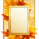 Autumn frame - GraphicRiver Item for Sale