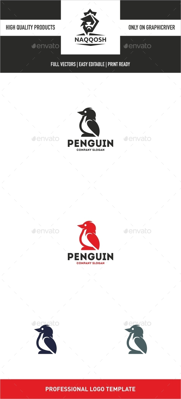 Penguin  - Logo Templates
