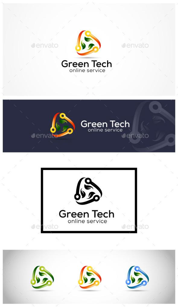Green Technology - Symbols Logo Templates