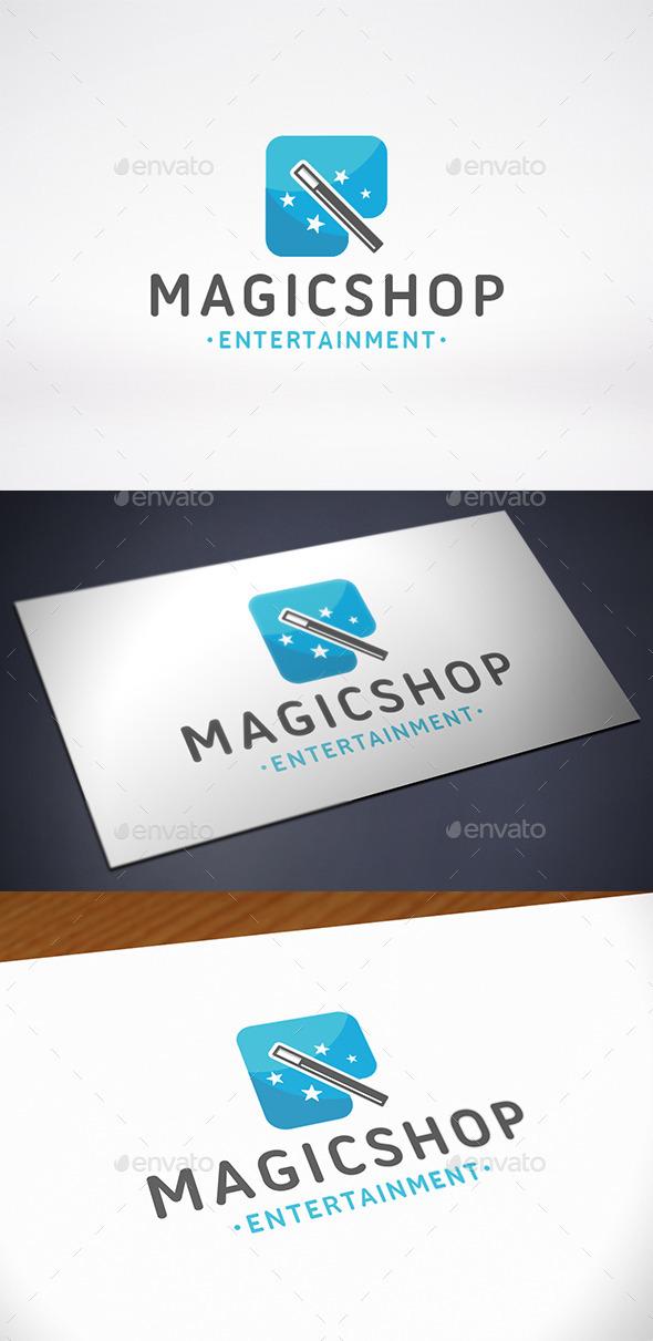Magic Shop Logo Template - Abstract Logo Templates