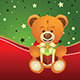 Teddy Bear with Gift Box - GraphicRiver Item for Sale