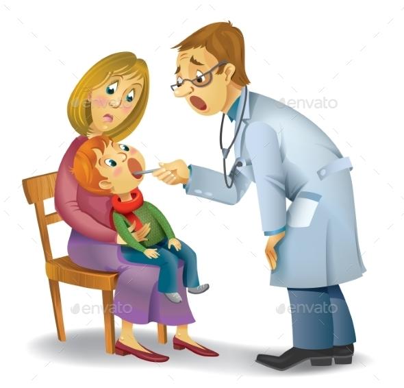 Family Doctor - Health/Medicine Conceptual