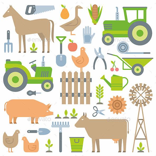 Farm pattern - Miscellaneous Vectors