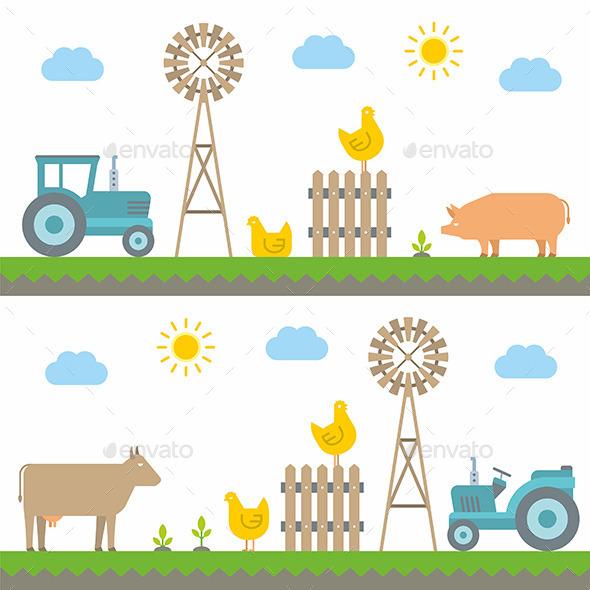 Farm - Landscapes Nature