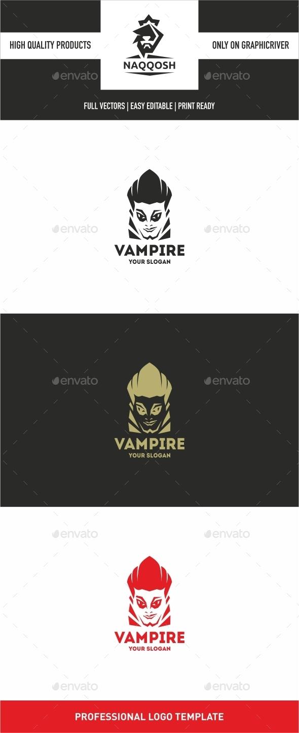 Vampire - Symbols Logo Templates