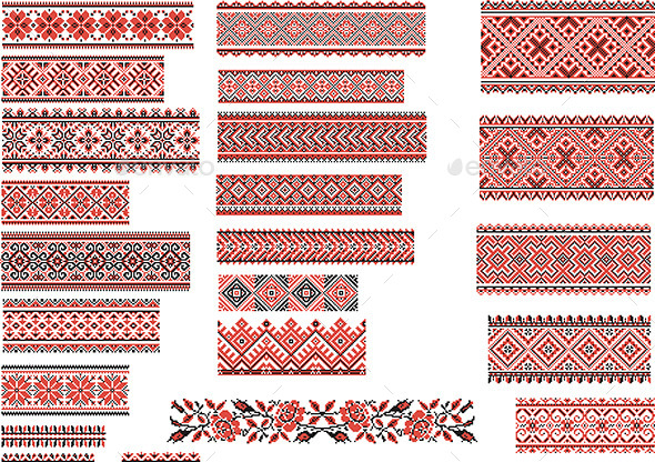 Patterns for Embroidery Stitch - Retro Technology