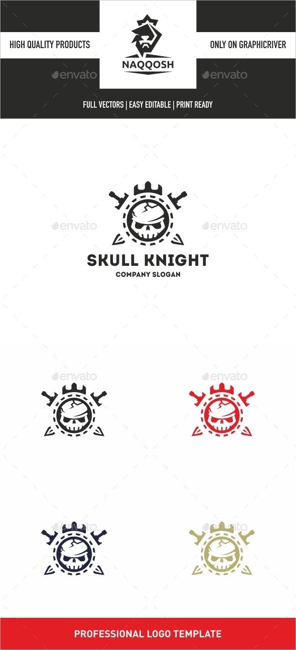 Skull Knight  - Symbols Logo Templates
