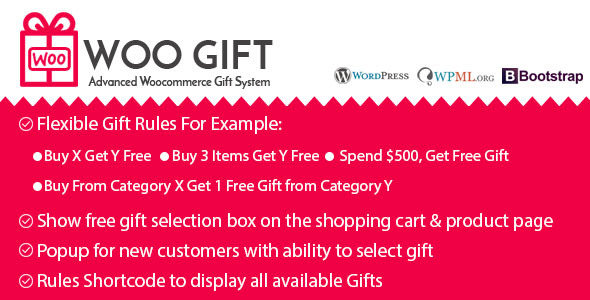 Woo Gift : Advanced Woocommerce Gift Plugin - CodeCanyon Item for Sale