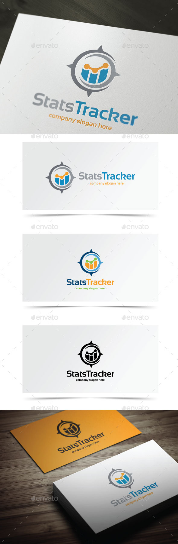 Stats Tracker - Symbols Logo Templates
