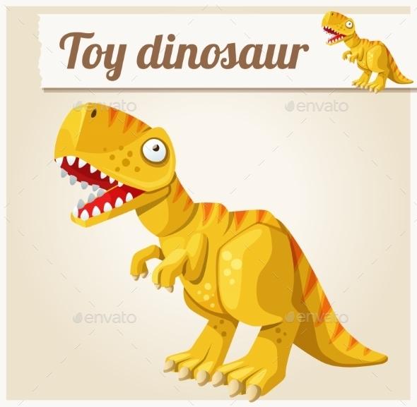 Toy Dinosaur.  - Miscellaneous Vectors