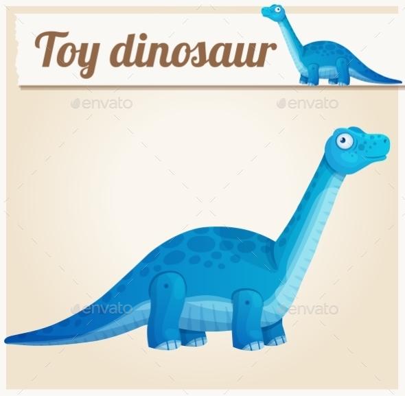 Toy Dinosaur - Miscellaneous Vectors