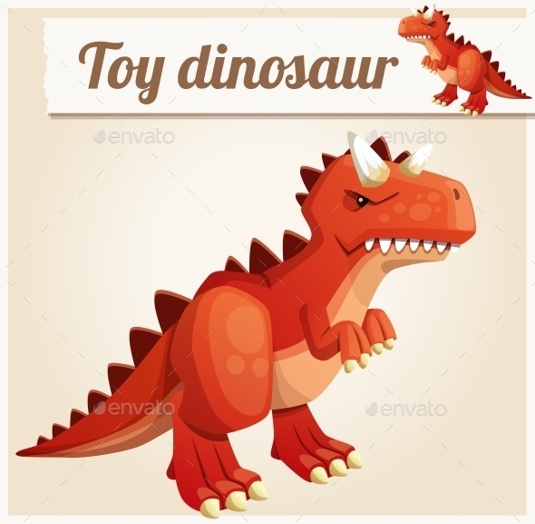 Toy Dinosaur - Miscellaneous Vectors