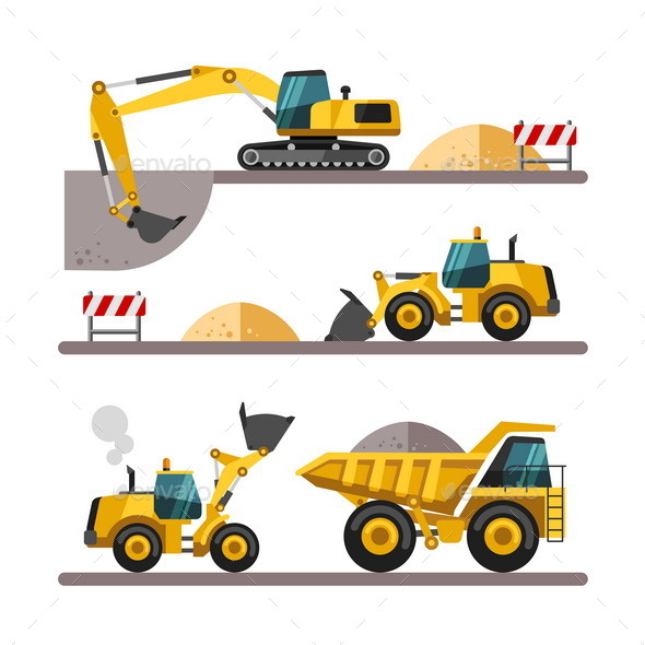 Construction Equipment and Machinery. - Industries Business