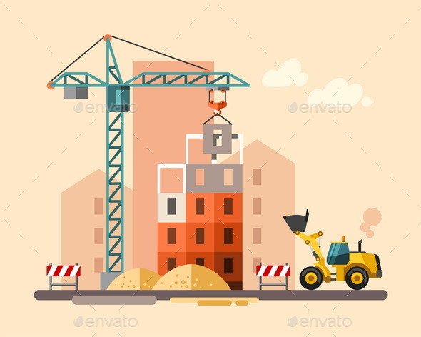 Construction Site - Industries Business