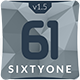 SixtyOne Multipurpose Muse Template Nulled